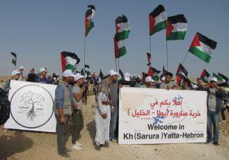 Sumud_signs_flags