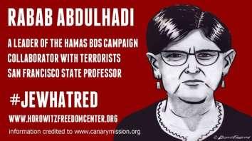 Horowitz_Abdulhadi_racist_poster