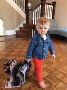 Eamon toddler blankie